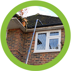 Gutter cleaning Surrey and London