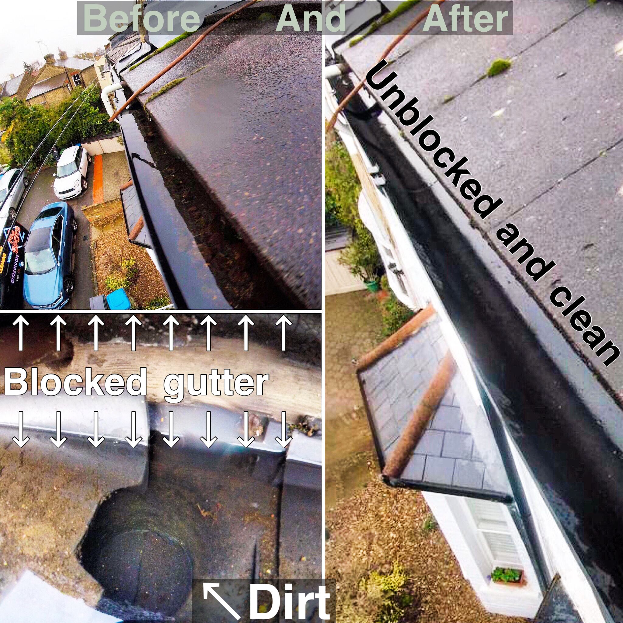 gutter cleaning 6